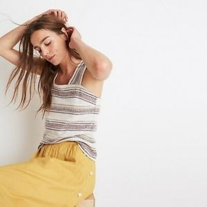 Madewell Tank w/ button back